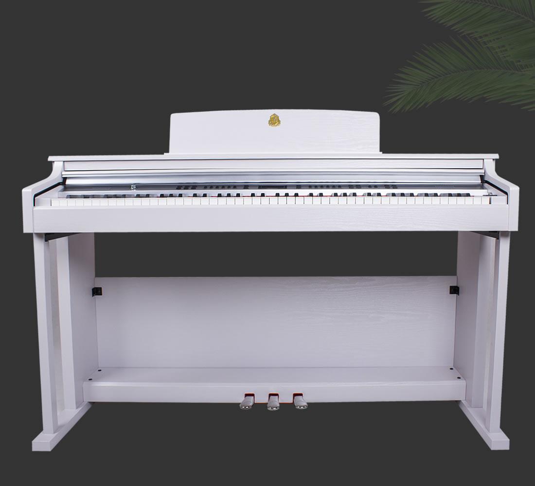产品信息:泰山电钢琴TSAM-5400白