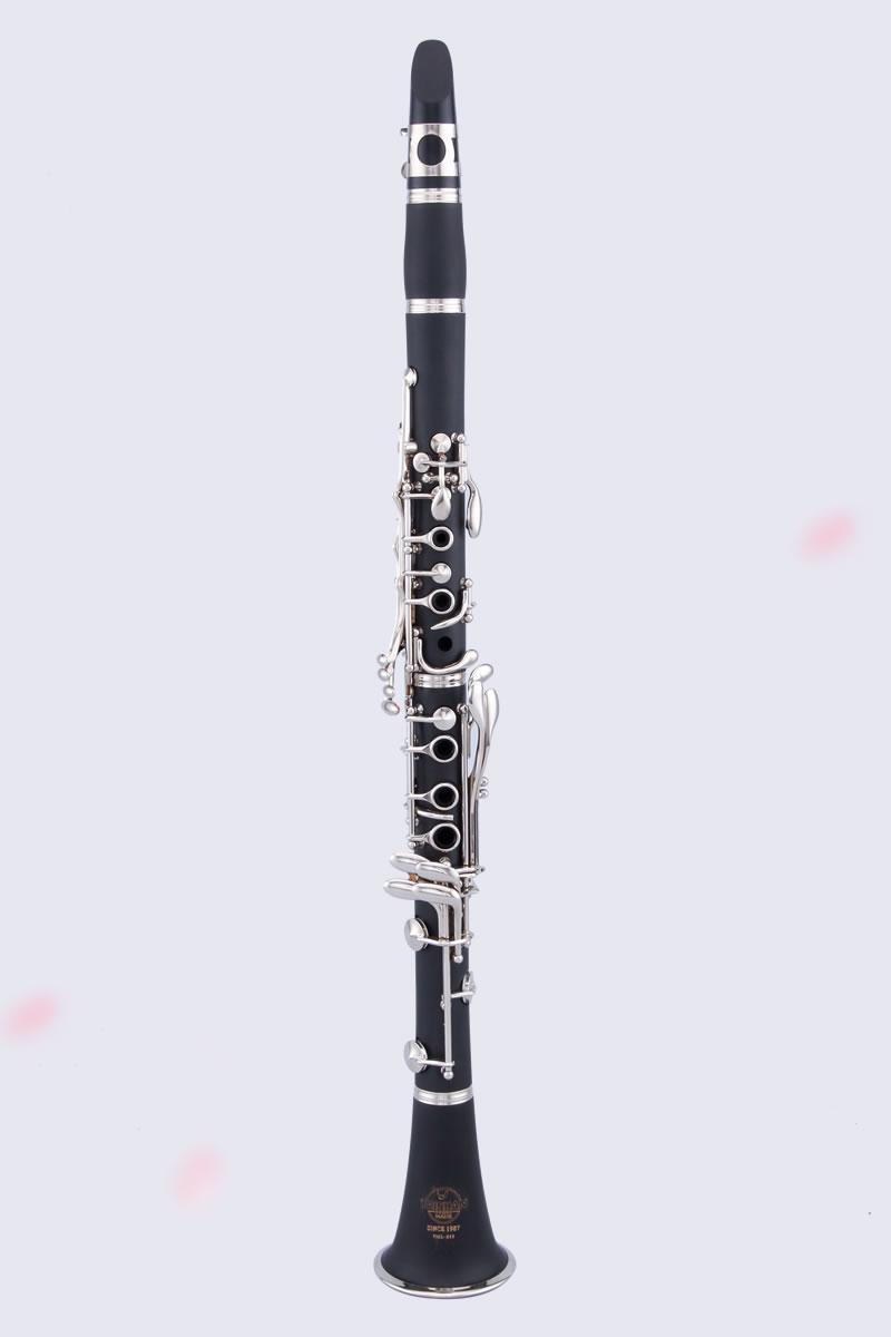 泰山仿木镀银单簧管