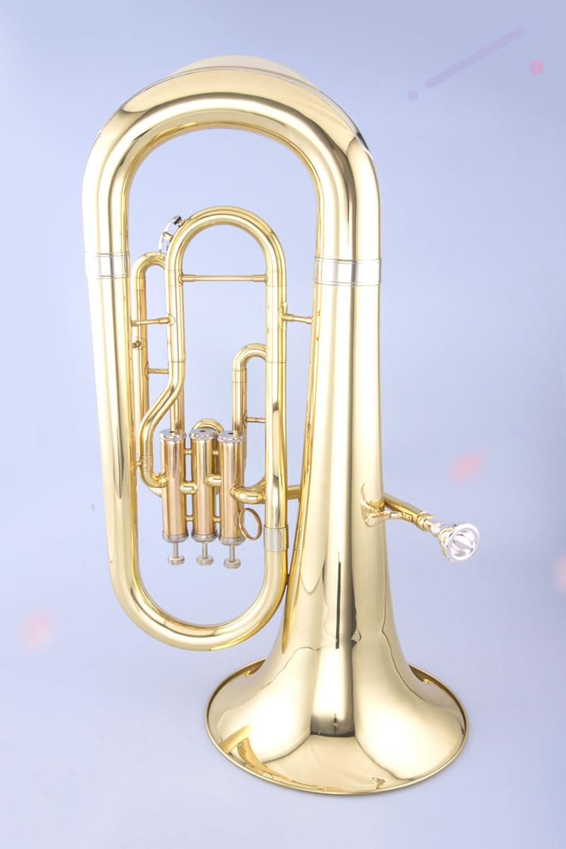 泰山立键上低音号漆金 TSBH-920