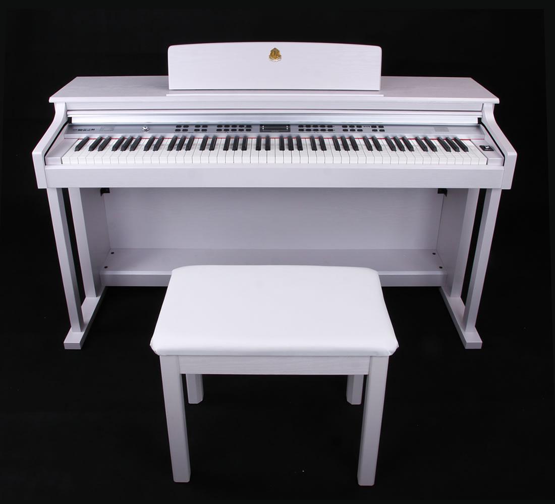 泰山电钢琴TSAM-5200白